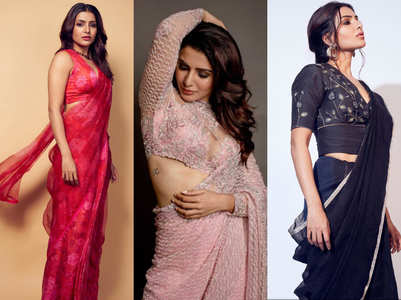 In pics: How to rock a sari like Samantha