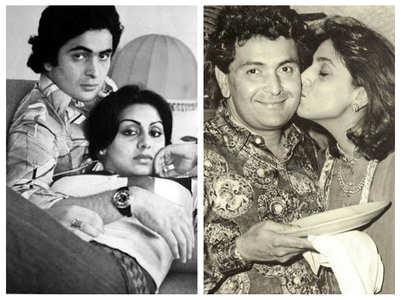 B'day special: Unseen pics of Neetu & Rishi