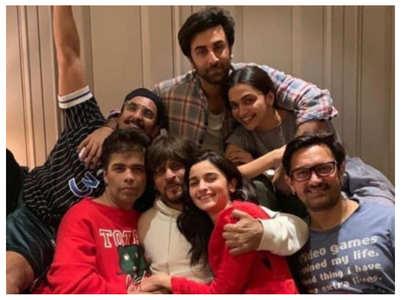 When SRK, Alia, Ranbir posed for an epic pic