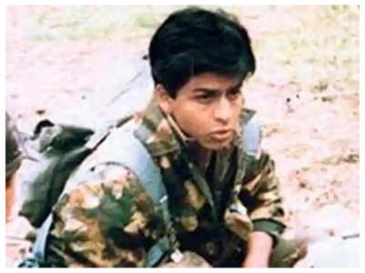 'Fauji' director ran after SRK with a stone?