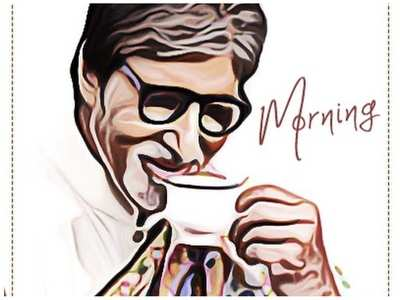 Big B starts his day with Agneepath dialogue