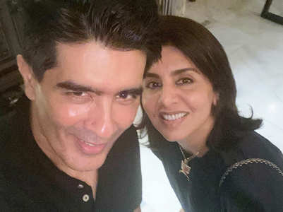 Manish wishes Neetu Kapooor on her birthday