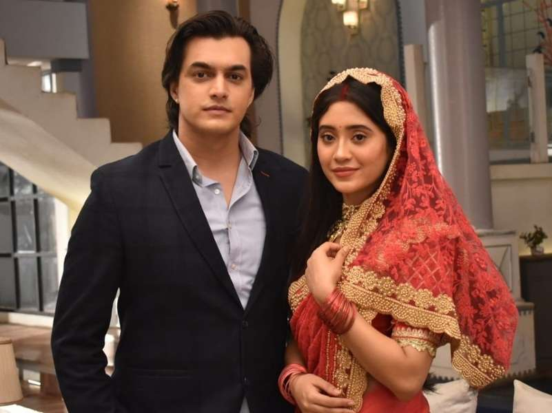 Shivangi and Mohsin sport a new look in YRKKH
