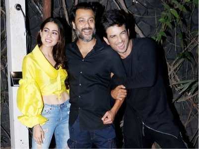 When SSR celebrated shoot wrap of  Kedarnath