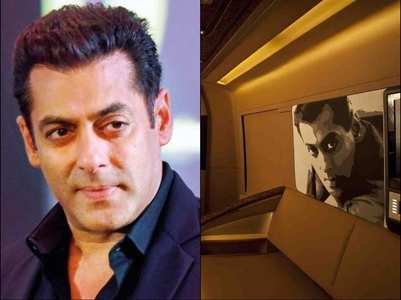 Sneak peek into Salman's plush vanity van