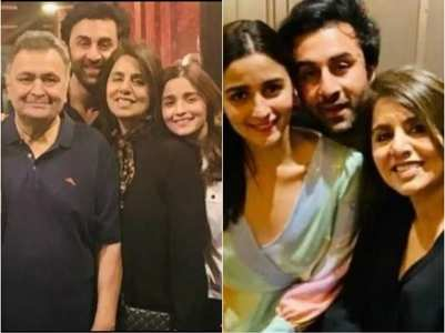 5 adorable pics of Alia, Ranbir & Neetu