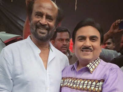 Throwback: When Dilip Joshi met Rajnikanth