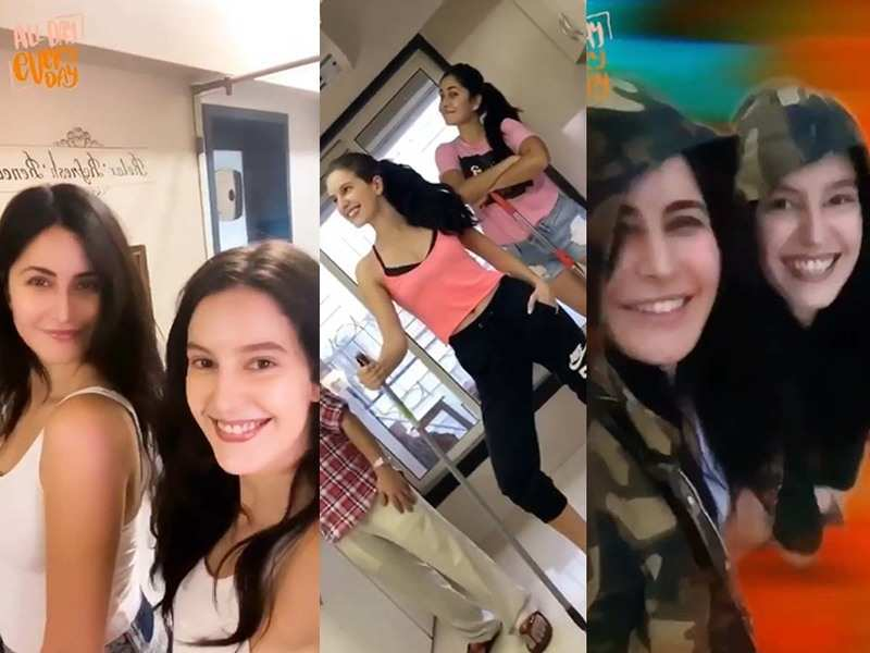 "Katrina Kaif's ""All Day Every Day"" video with sister ..."