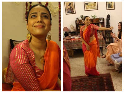 Video: Swara grooves to 'Navrai Majhi'