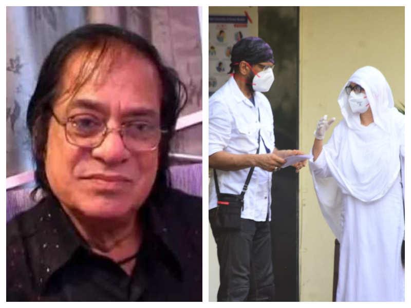 Veteran actor Jagdeep's demise: Jaaved Jaaferi and family leave for the legendary star's last rites