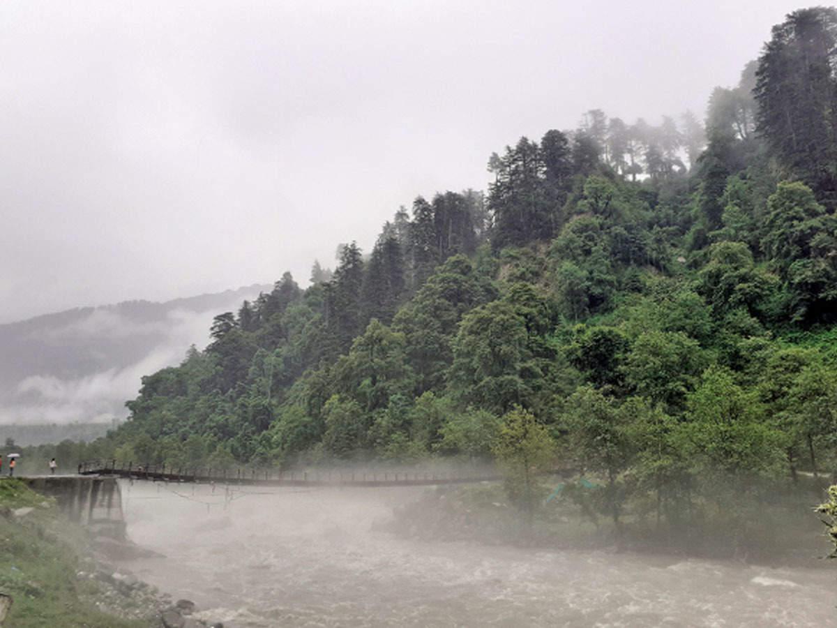 Landslide, flood alert in Himachal Pradesh after heavy rains   Shimla News  - Times of India