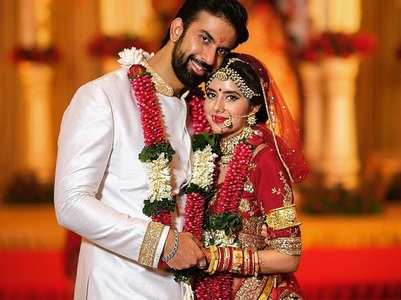 Charu, Rajeev delete their wedding photos