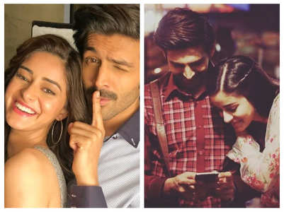 Ananya and Kartik's adorable pictures