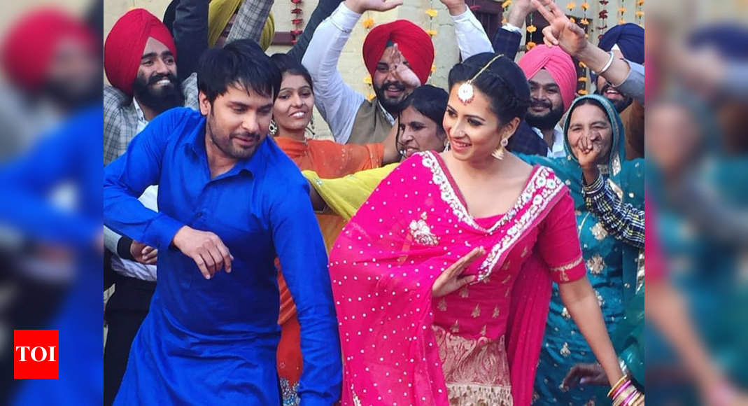 Photo of Amrinder Gill and Sargun Mehta starrer 'Love Punjab' re-enters in Australian theatres