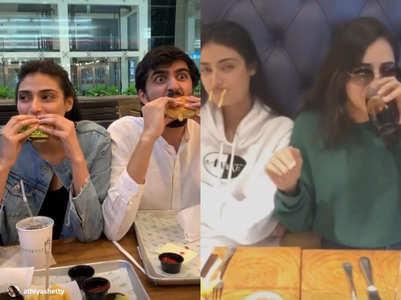 Watch video: Athiya & her friends