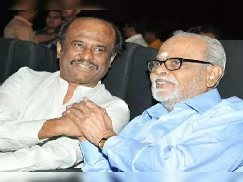 Rajinikanth remembers his mentor K Balachander on his 90th birth anniversary