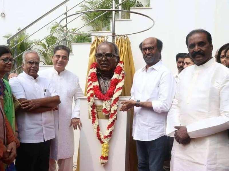Kamal Haasan, Kala Master, Ganesh Venkatram and others pay tribute to the legendary director K Balachander on his 90th birthday
