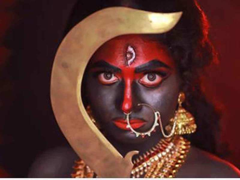 Anarkali Marikar's avatar as Kali is fierce and striking