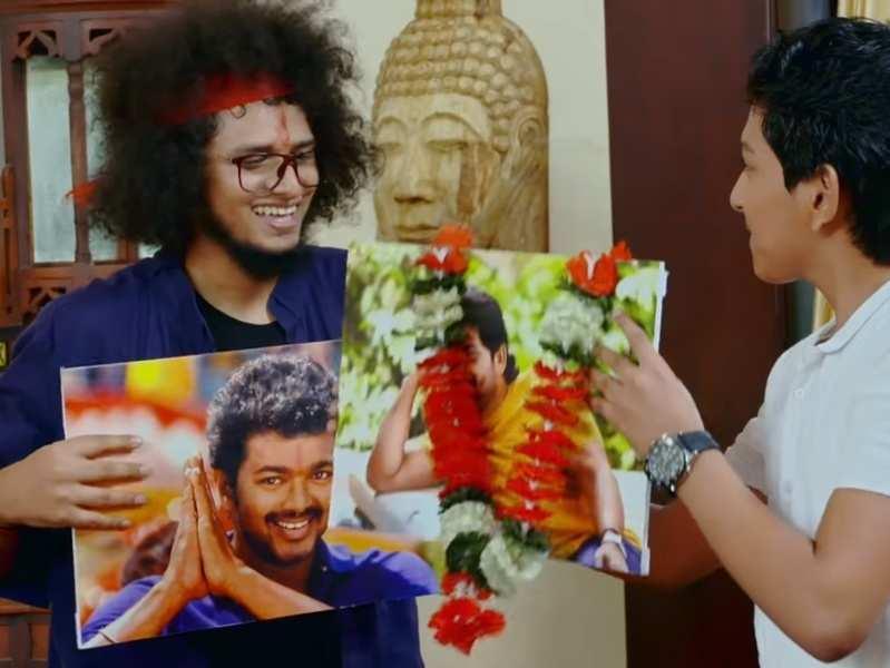 Uppum Mulakum: Keshu and Mudiyan show off their love for actors Allu Arjun and Vijay