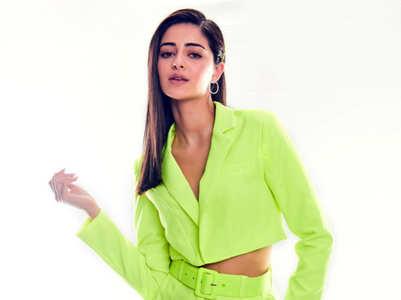 Ananya Panday rocks neon shades