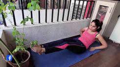 Actress Pallavi Patil gives a sneak peek into her lockdown routine