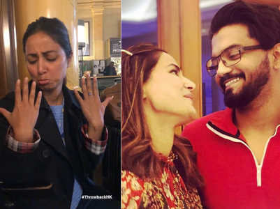 Hina's nail-chip woes; beau Rocky shares video