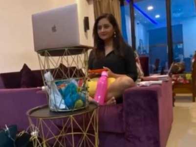 Rashami Desai's WFH 'jugaad' is hilarious