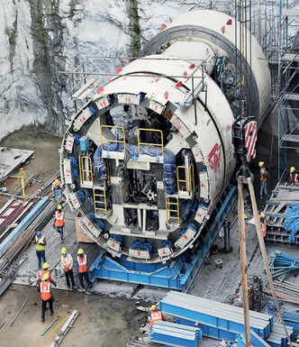 Metro to dig deep with Chinese boring machines