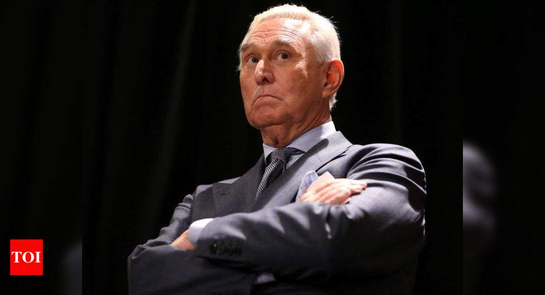 Trump commutes prison sentence of ally Roger Stone: White House – Times of India