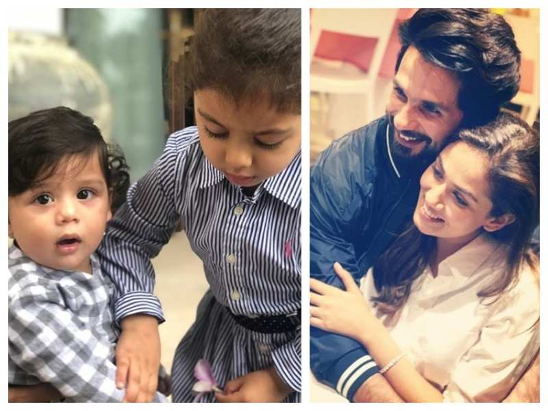 Mira Rajput's kids send gibberish text messages to daddy Shahid Kapoor and it is simply hilarious