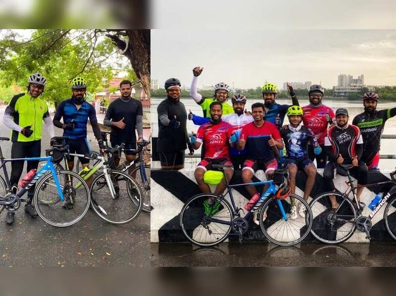 Arya completes 80km cycle ride with his team, receives flak for violating COVID-19 norms