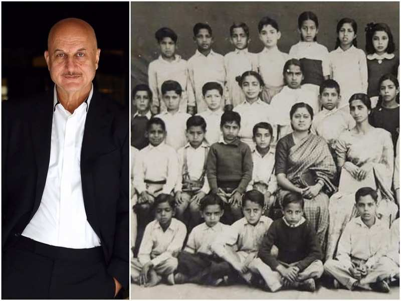 Anupam Kher and (right) the picture he shared