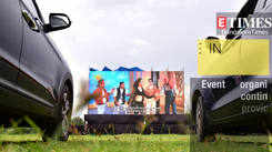 Drive-in theatre makes its debut in Bengaluru