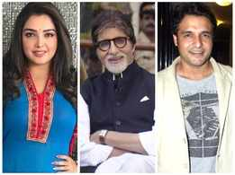 Aamrapali Dubey, Vinay Anand, Poonam Dubey and other Bhojpuri stars wish Amitabh Bachchan for his recovery