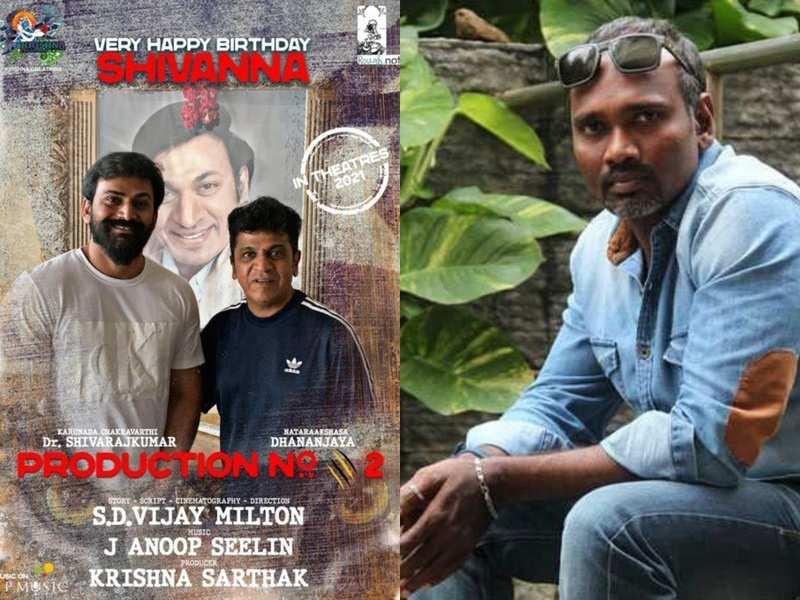 Vijay Milton to direct Kannada star Shiva Rajkumar; Suriya makes the announcement
