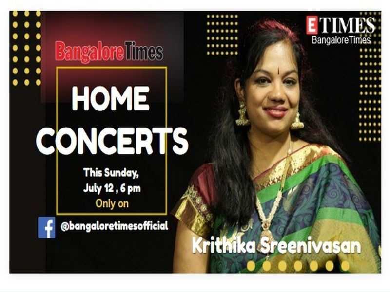 Singer Krithika Sreenivasan to perform live today