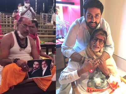 Special prayers for Amitabh-Abhishek