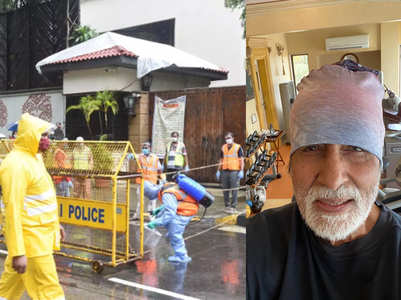 Amitabh's all bungalows sealed by BMC