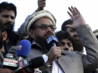 76927201 Pakistan restores financial institution accounts of Hafiz Saeed, his 4 prime aides: Report