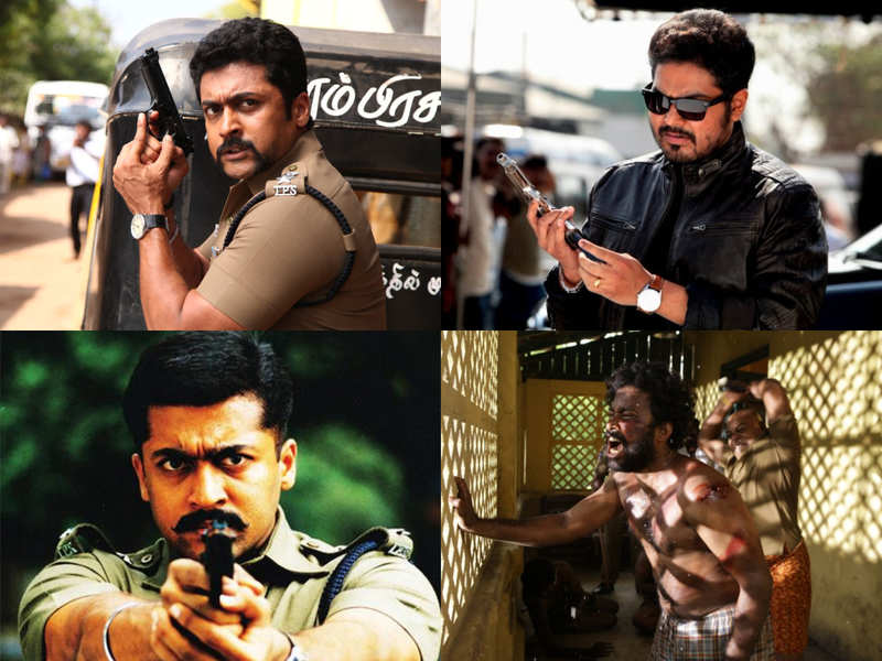 Vikram's Saamy to Suriya's Singam: What is so filmi about police encounters?