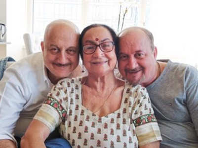 Anupam's mother shifted to isolation ward