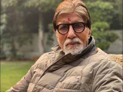 Big B maintains his daily routine in isolation