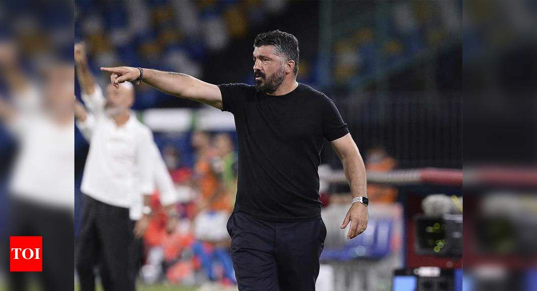 Napoli coach emotional while facing AC Milan, angry with ...