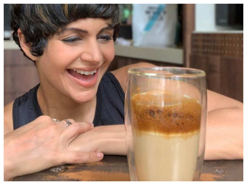 Mandira Bedi shares tips on how to make a simple coffee protein rich