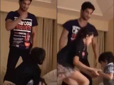 Throwback: Watch Sushant play with his niece