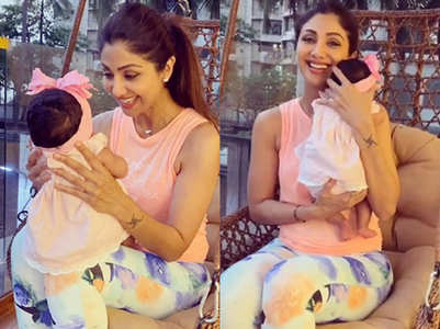 Shilpa shares back health tips for new parents