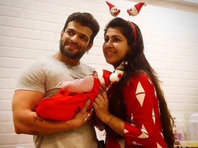 Karan on holding daughter for the first time