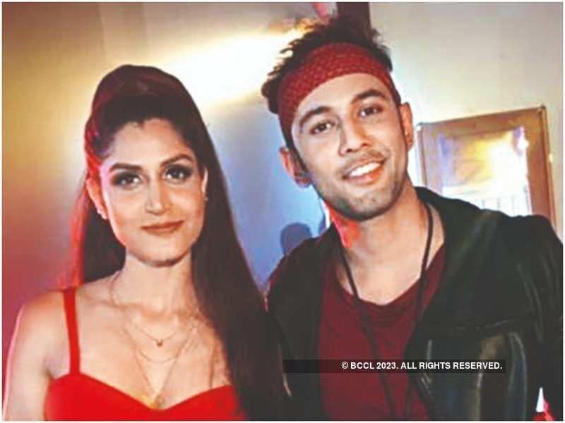 Divvya Chouskey with Sahil Anand
