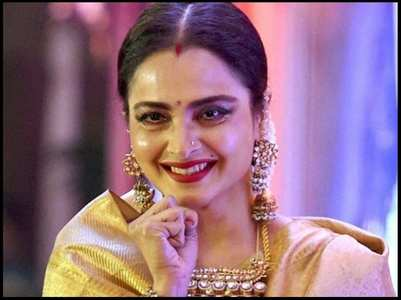 Actress Rekha under home quarantine