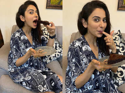 Rakul's comic strip dress is a must-have